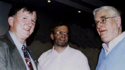 REx, Bill Chalker and Budd Hopkins